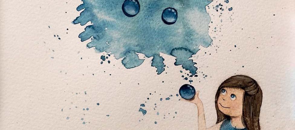 abbastanza Come dipingere le gocce con gli acquerelli - I colori di Laura YS24