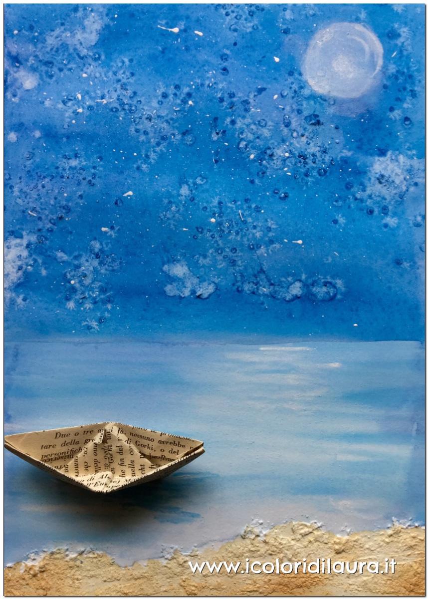Come disegnare il mare in tempesta   Non solo Cultura